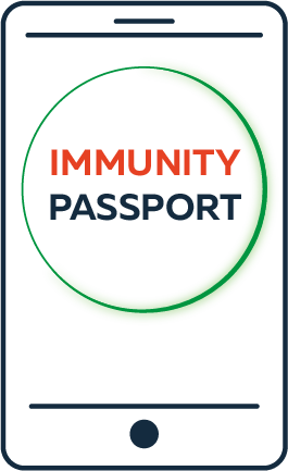 Graphic Immunity Passport