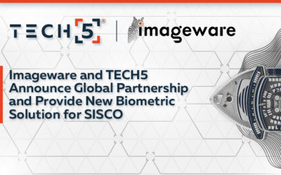 Imageware and TECH5 Announce Global Partnership and Provide New Biometric Solution for SISCO
